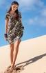 Сукня прямого крою з кишенями у швах - фото 1