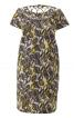 Сукня прямого крою з кишенями у швах - фото 2
