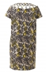Сукня прямого крою з кишенями у швах - фото 4