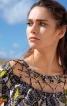 Сукня прямого крою з кишенями у швах - фото 5