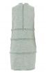 Сукня коротка з бахромою у швах - фото 4