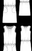 Сукня атласна з куліскою на талії - фото 3