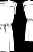 Сукня без рукавів із куліскою на талії - фото 3