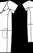 Сукня замшева прямого крою - фото 3