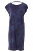 Сукня прямого крою з вирізом на спинці - фото 2