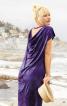 Сукня прямого крою з вирізом на спинці - фото 1