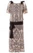 Сукня прямого крою з рукавами-крильцями - фото 2