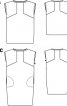 Сукня шовкова просторого крою - фото 3