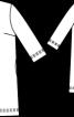 Сукня прямого крою з рукавами 3/4 - фото 3