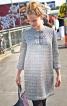 Сукня прямого крою з рукавами 3/4 - фото 1