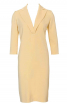 Сукня-футляр з довгими лацканами - фото 2