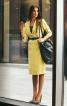 Сукня-футляр з довгими лацканами - фото 1