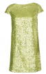 Сукня прямого крою з пайєтками - фото 2