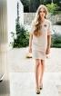 Лаконічна міні-сукня в стилі ретро - фото 1