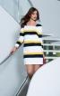 Сукня міні з довгими рукавами - фото 1