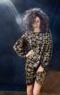 Шовкова сукня з об'ємними рукавами - фото 1