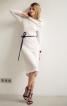 Сукня з асиметрично вшитими рукавами  - фото 1