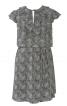 Сукня прямого крою з воланами - фото 2