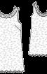 Сукня міні мереживна з вирізом на спинці - фото 3