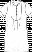 Сукня з пластроном - фото 3