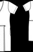 Сукня міні з відлітними деталями - фото 3