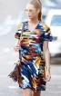 Сукня міні з відлітними деталями - фото 1