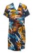 Сукня міні з відлітними деталями - фото 2