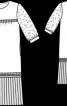 Сукня з рукавами 3/4 - фото 3