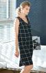 Сукня просторого крою з подвійним передом - фото 1