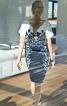 Сукня із суцільнокроєними рукавами - фото 4