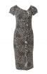 Сукня по фігурі з воланами - фото 2