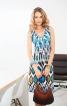 Сукня приталена з драпіровкою на горловині - фото 1