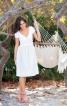 Сукня з фігурною планкою на талії - фото 1