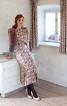 Сукня приталеного крою з воланом - фото 1