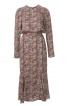 Сукня приталеного крою з воланом - фото 2