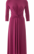 Сукня трикотажна з віяловими складками - фото 2