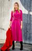 Сукня трикотажна з віяловими складками - фото 1
