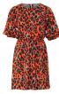 Сукня міні з куліскою на талії - фото 2