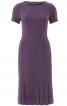 Сукня приталеного крою з рукавами реглан - фото 2
