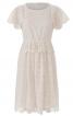 Сукня мереживна з рукавами-крильцями - фото 2