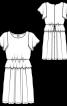 Сукня мереживна з рукавами-крильцями - фото 3