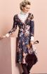 Сукня приталеного крою з V-подібним вирізом - фото 1