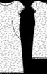 Сукня мереживна з короткими рукавами - фото 3