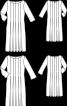 Сукня приталеного силуету з глибокими складками - фото 3