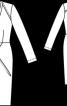 Сукня міді приталеного крою - фото 3