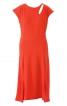 Сукня з видовженою лінією плечей - фото 2