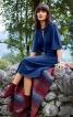 Сукня прилеглого крою зі складками на ліфі - фото 1