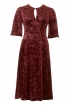 Сукня приталена з вирізом-крапелькою - фото 2