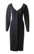 Приталена сукня с глибоким вирізом горловини - фото 2