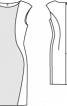 Сукня-футляр без рукавів з вирізом човником - фото 3